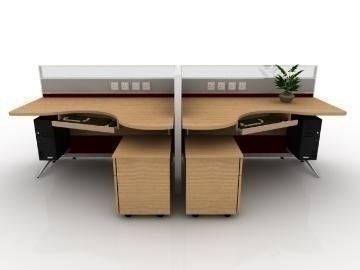executive workstation v4 3d model max 77168