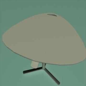 laptop stand desk 3d model ma mb 80979