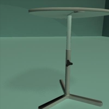 laptop stand desk 3d model ma mb 80981