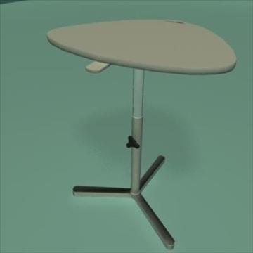 laptop stand desk 3d model ma mb 80982