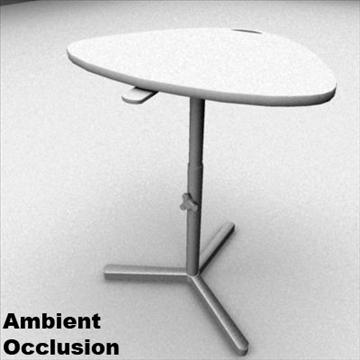 laptop stand desk 3d model ma mb 80983