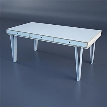 modern minimalist desk 3d model 3ds max dwg fbx c4d lwo hrc xsi texture obj other 111985
