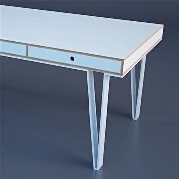 modern minimalist desk 3d model 3ds max dwg fbx c4d lwo hrc xsi texture obj other 111986