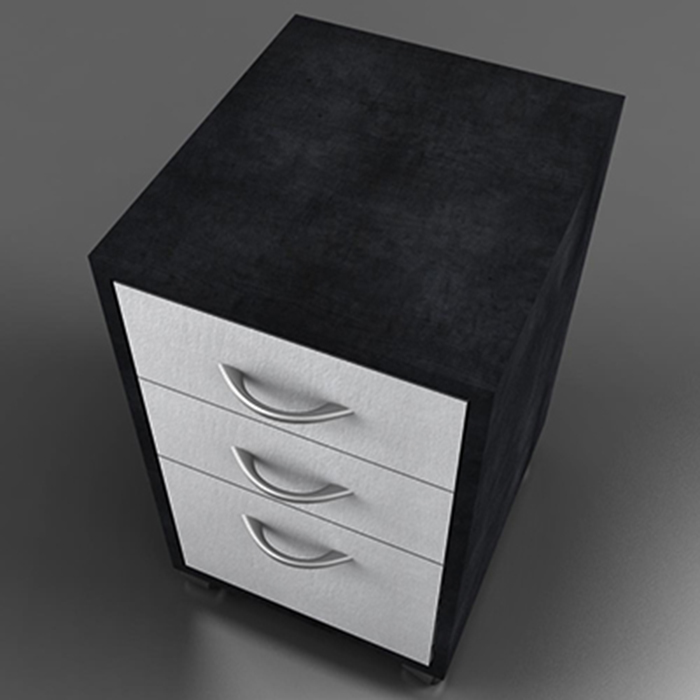 side table desk 3d model 3ds max fbx ma mb obj 156945