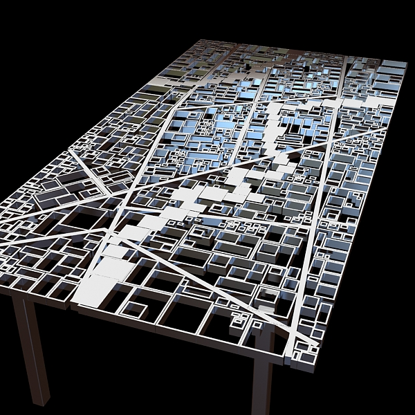 table new baghdad edra ezri tarazi 3d model max fbx obj 120851