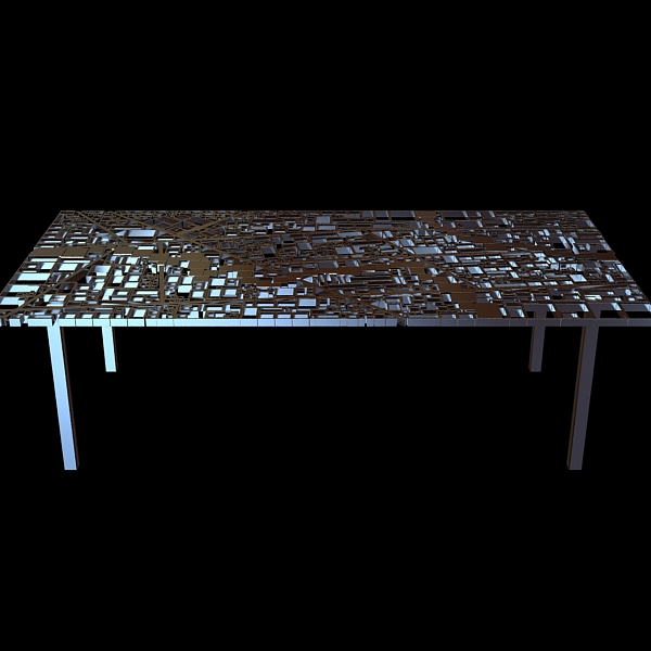 table new baghdad edra ezri tarazi 3d model max fbx obj 120852