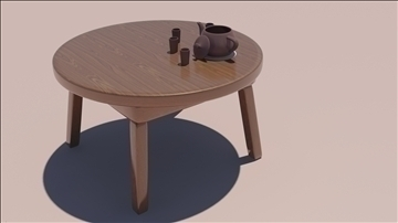 koka galds 3d modelis max 111815