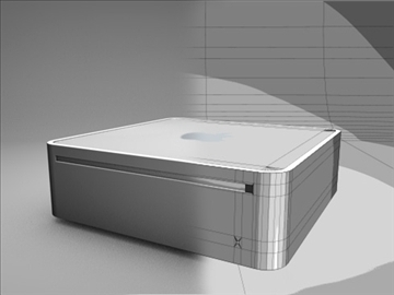 apple mac mini 3d model 3ds dxf fbx c4d x obj 85272