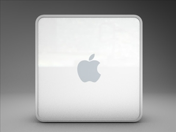 apple mac mini 3d model 3ds dxf fbx c4d x obj 85273