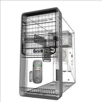 compaq presario 3d model max 89529