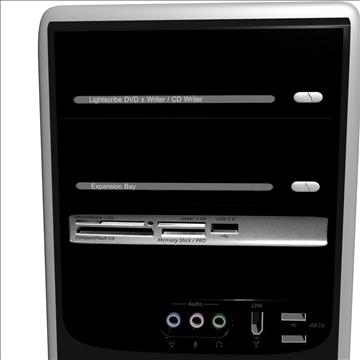 compaq presario 3d model max 89532