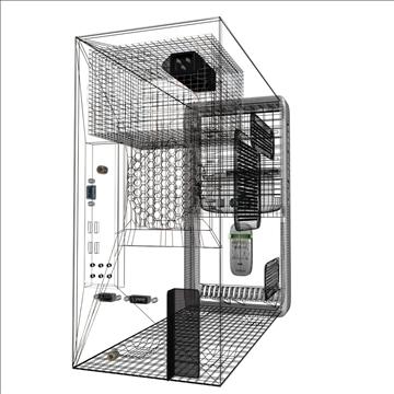 compaq presario 3d model max 89537
