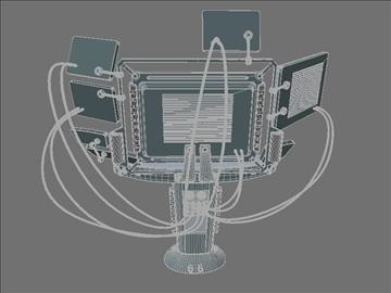 computer terminal (scifi) 3d model 3ds max jpeg jpg lwo obj 108827