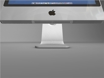 gen 4 apple imac 3d model 3ds dxf fbx c4d x obj 84416