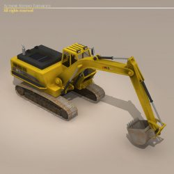 Excavator ( 58.93KB jpg by tartino )