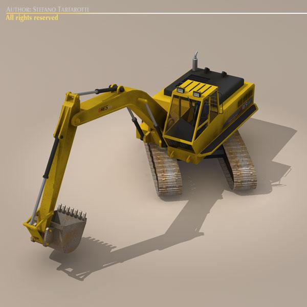 bager v2 3d model 3ds dxf c4d obj 113443