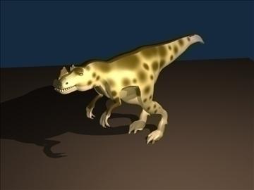ceratosaurus 3d model 3ds blend c4d lwo obj 105578