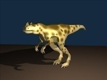 ceratosaurus 3d model 3ds blend c4d lwo obj 105579