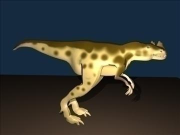 ceratosaurus 3d model 3ds blend c4d lwo obj 105580