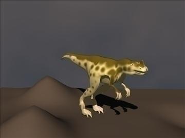 ceratosaurus 3d model 3ds blend c4d lwo obj 105585