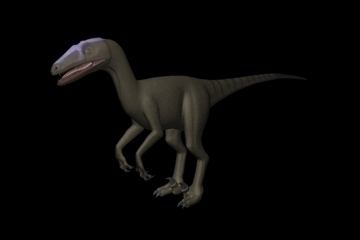 deinonychus model (no rig) 3d model max ma mb 100889