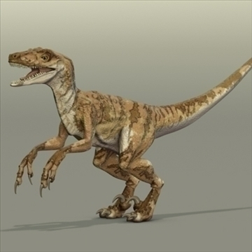 velociraptor 3d mudel hrc xsi obj 93247
