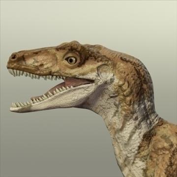 velociraptor 3d model hrc xsi obj 93248
