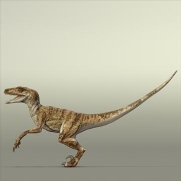 velociraptor 3d model hrc xsi obj 93249