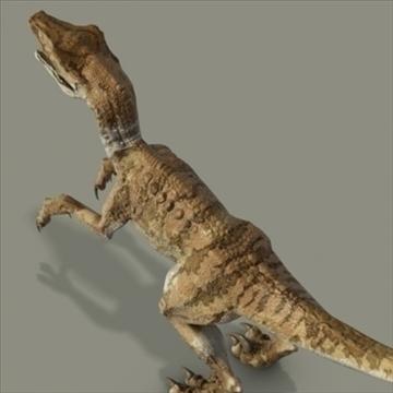 velociraptor 3d model hrc xsi obj 93250