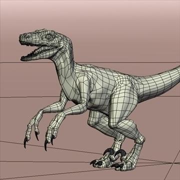 velociraptor 3d model hrc xsi obj 93251