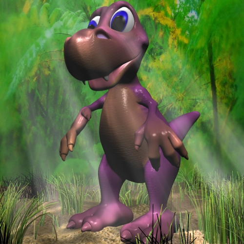 batang cartoon dinosauro rigged 3d modelo 3ds max fbx lwo obj 112426