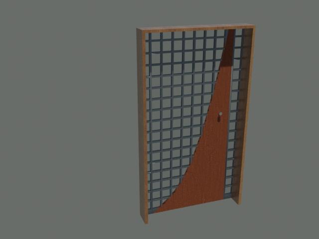 Door modern 3d model buy door modern 3d model flatpyramid for Door 3d model