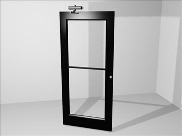 metāla durvju hidrauliskā aparatūra 3d 3ds 109066 modelis