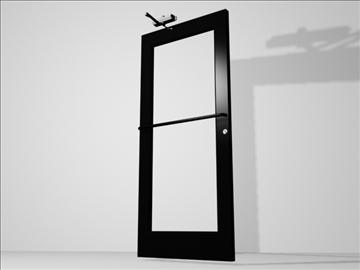 metal door hydraulic hardware 3d model 3ds max wrl wrz obj 109068