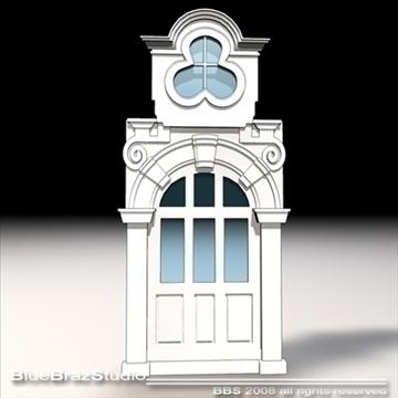 old style portal 3d model 3ds dxf c4d obj 92724