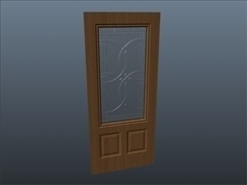 terracourt lite exterior door 3d model 3ds max ma mb 102073