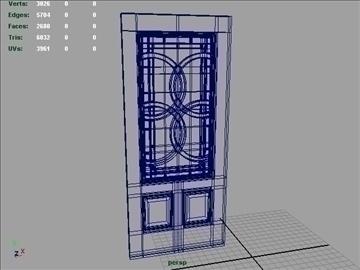 terracourt lite exterior door 3d model 3ds max ma mb 102079