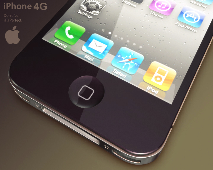 apple iphone 4g 3ds max 3d model 3ds max fbx obj 116648