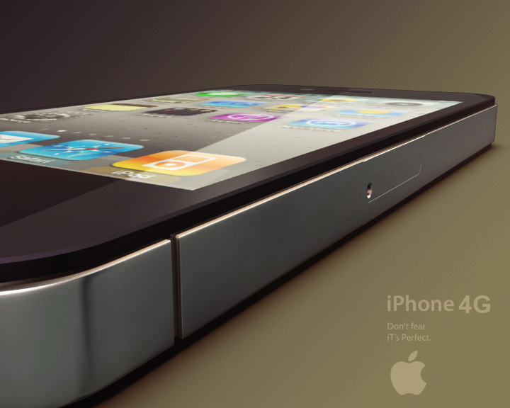 apple iphone 4g 3ds max 3d model 3ds max fbx obj 116650