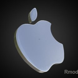 Apple 3d Logo ( 107.59KB jpg by rmodeler )