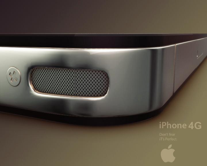 Apple Iphone 4G  ( 166.43KB jpg by Saffan )