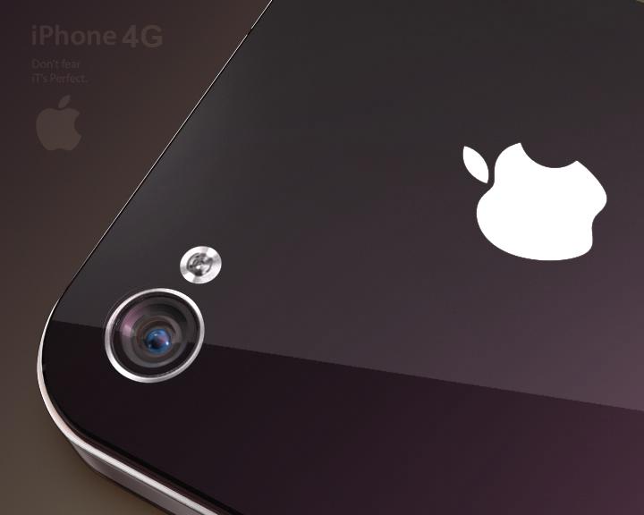 Apple Iphone 4G  ( 128.86KB jpg by Saffan )
