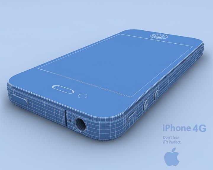 Apple Iphone 4G  ( 90.47KB jpg by Saffan )