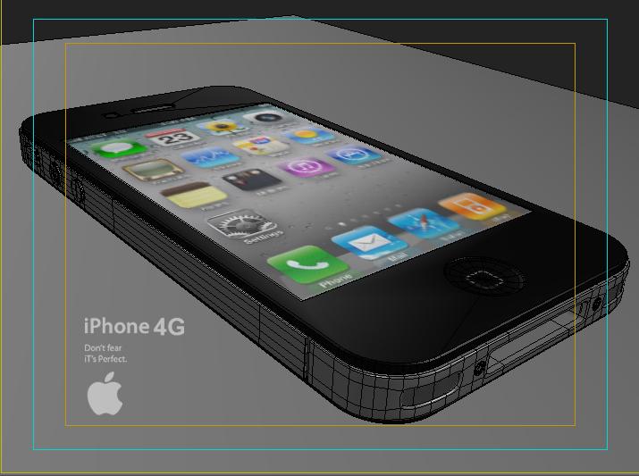 Apple Iphone 4G  ( 167.59KB jpg by Saffan )