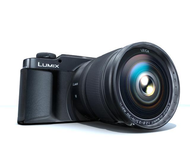 kamera 3d modelis max 113399
