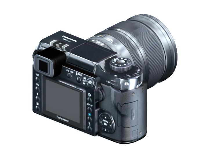 camera 3d model max 113401
