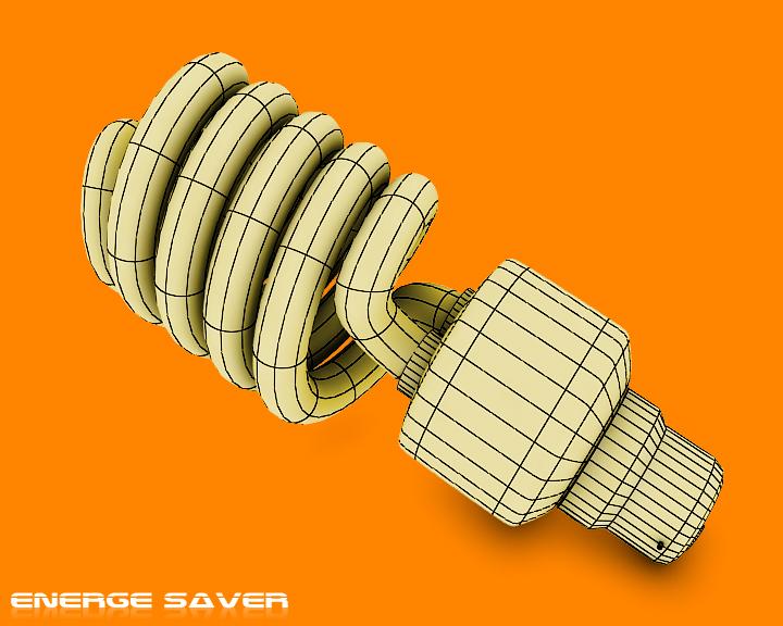 enerģijas taupīšanas spuldzes 3d modelis 3ds max obj 116120