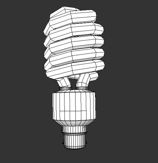 enerģijas taupīšanas spuldzes 3d modelis 3ds max obj 116122