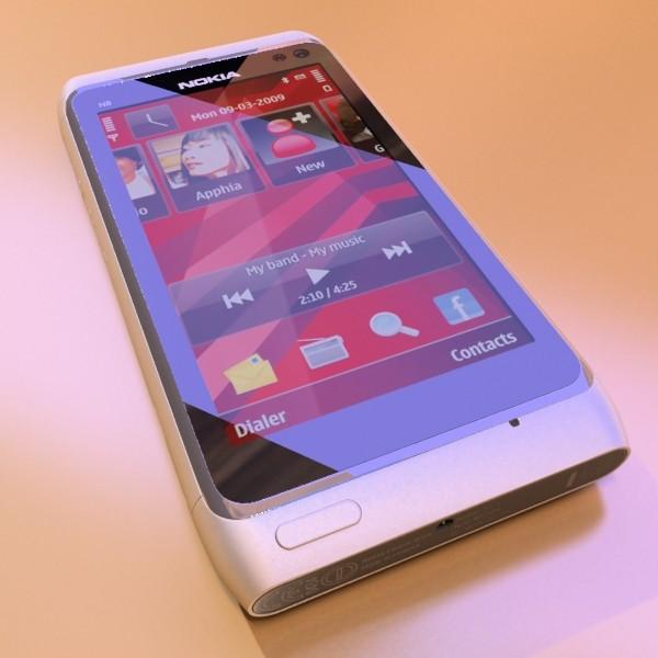 3D Model Nokia N 8 High detail ( 53.74KB jpg by VKModels )