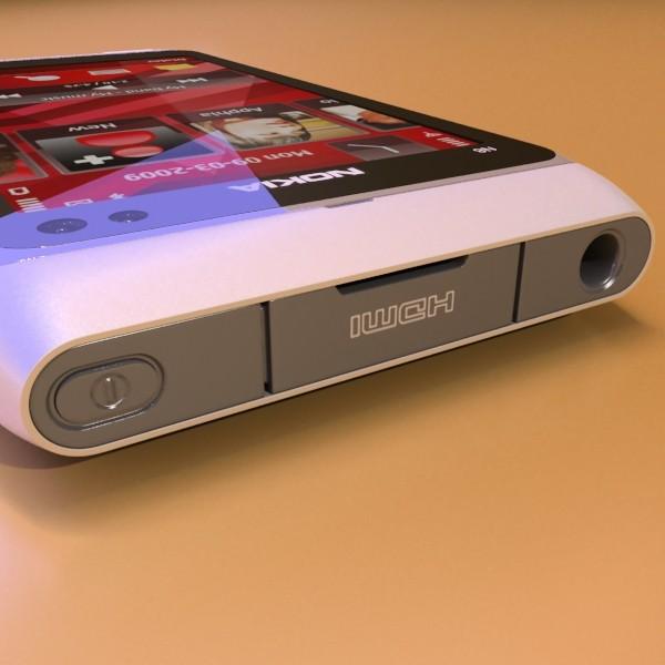 3D Model Nokia N 8 High detail ( 49.53KB jpg by VKModels )